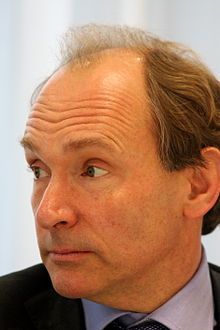 Tim Berners-Lee, inventor of the World Wide Web and the HTTP, director of the W3C