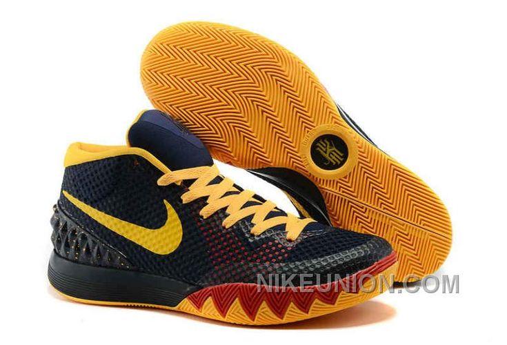 http://www.nikeunion.com/nike-kyrie-1-us-sale-black-navy-yellow-discount.html NIKE KYRIE 1 US SALE BLACK NAVY YELLOW DISCOUNT : $69.39