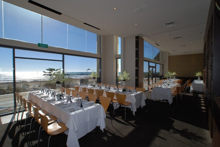 Esca restaurant. On the Marina at Glenelg. Stunning option for functions - sea views on one side, marina board walk on the other.