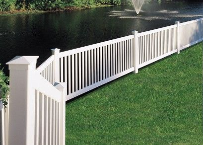 Princeton Vinyl Fence by Bufftech | Discount Fence Supply, Inc.