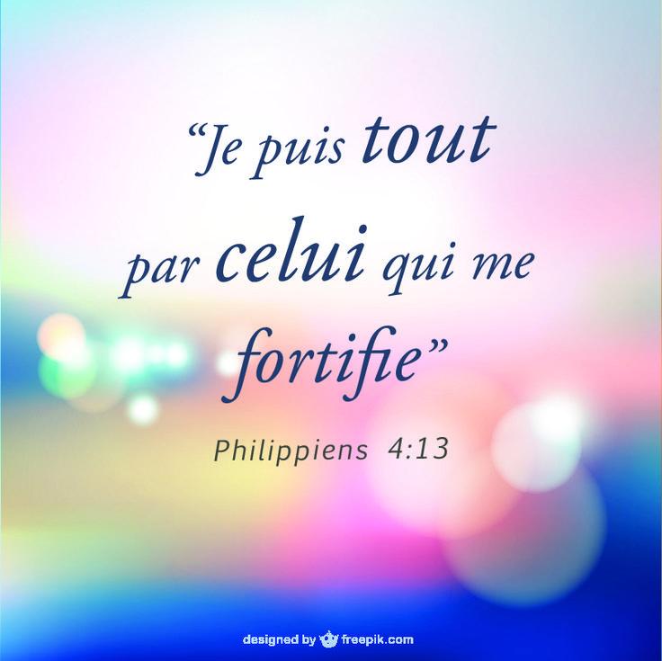 Philippiens 4.13
