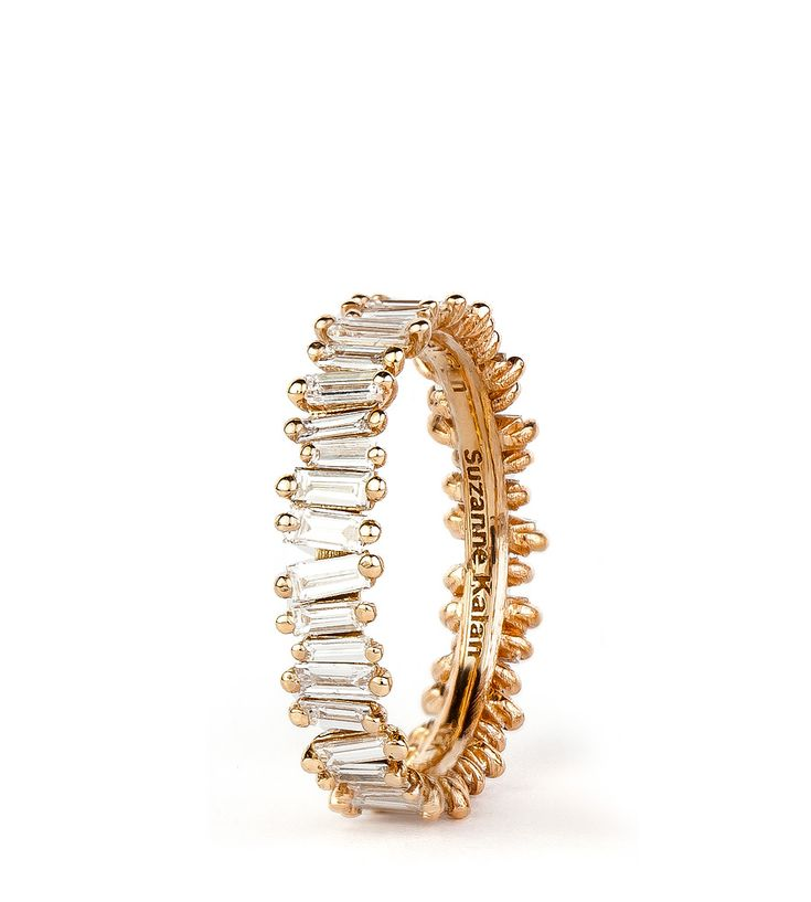Shop :: PRODUCT LINE :: RINGS :: 18K ROSE GOLD BAGUETTE BAND