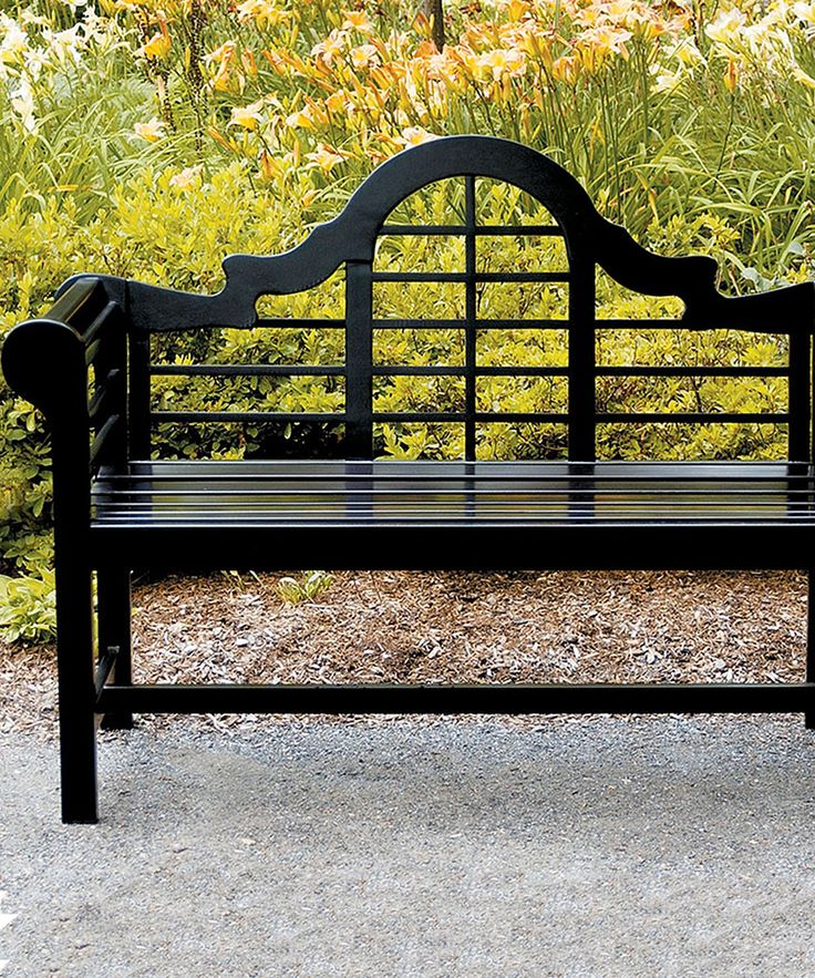 Look At This Black Lutyens Camelback Bench On #zulily Today! Furniture  MakeoverOutdoor ...