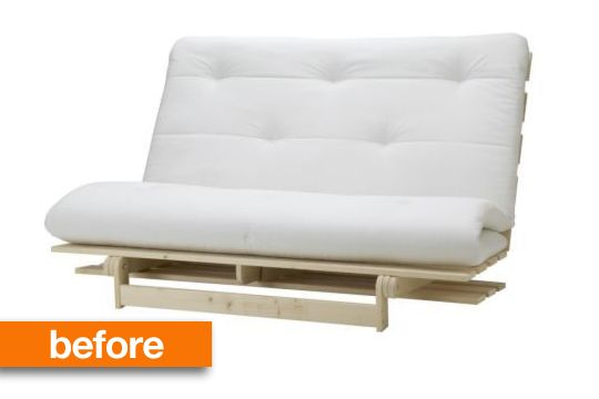 Before & After: IKEA Futon Graduates From College — Instructables | Apartment Therapy