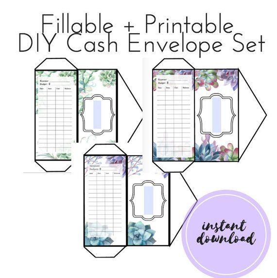 Printable Money Envelope Budget Dave Ramsey Editable Diy Cash Envelopes Fillable Budget Envelopes Cash Budget Envelopes Cash Envelopes Cash Budget Envelopes