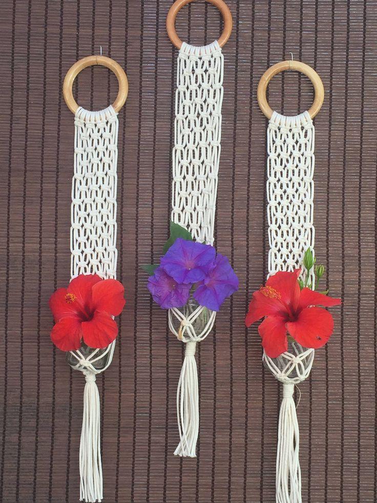 Un favorito personal de mi tienda de Etsy https://www.etsy.com/es/listing/568951024/100-cotton-hand-made-macrame-flower