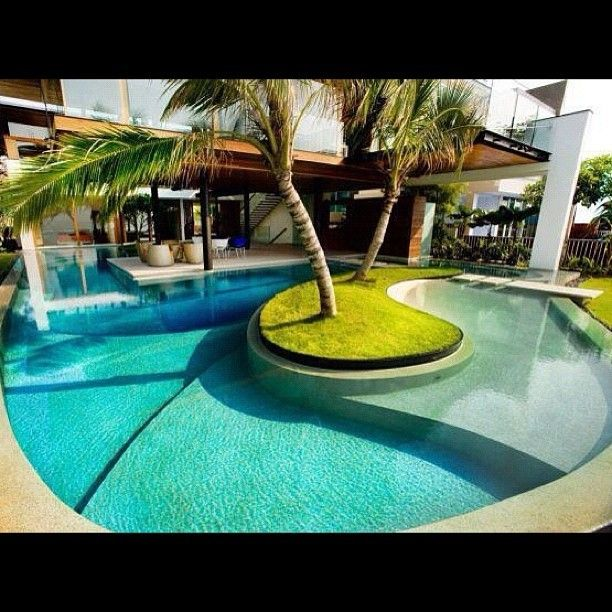 54 best Piscinas images on Pinterest Architecture Pool ideas
