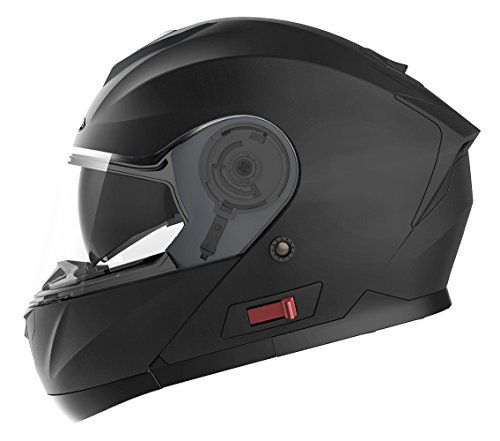 Motorcycle Modular Full Face Helmet DOT Approved - YEMA YM-926 Motorbike Moped Street Bike Racing Crash Helmet with Sun Visor for Adult, Men and Women - Matte Black,XL #Motorcycle #Modular #Full #Face #Helmet #Approved #YEMA #Motorbike #Moped #Street #Bike #Racing #Crash #with #Visor #Adult, #Women #Matte #Black,XL