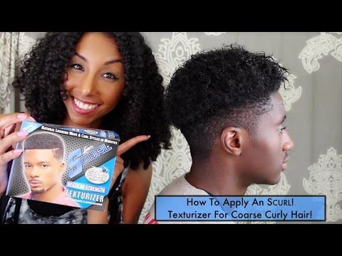 NEW! How To Apply an S CURL! Texturizer For Coarse Curly Hair! | BiancaReneeToday - YouTube