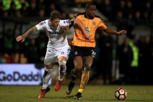 Leeds Uniteds Liam Cooper in race against time to face Derby County