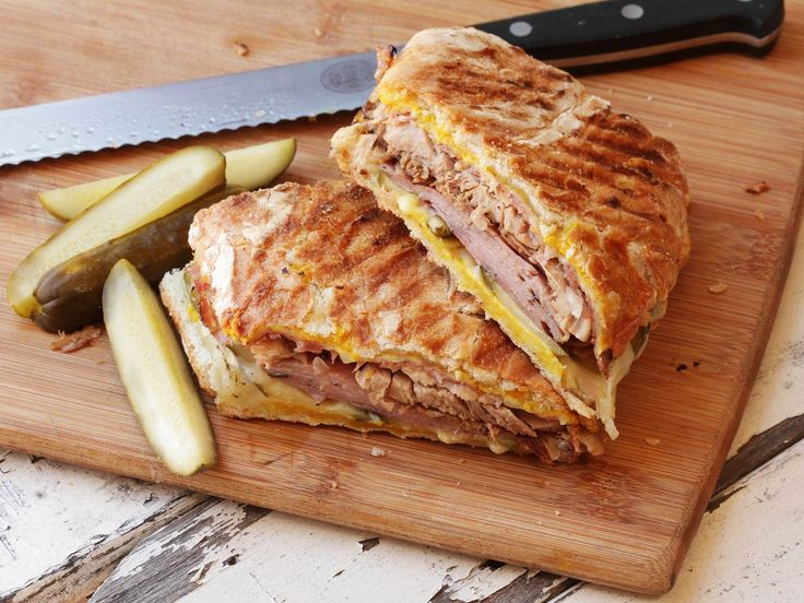 When life gives you lemons, you make lemonade. When Past You gives Present You leftover Cuban roast pork, first you drink a toast to Past You for the generosity and forethought (a mojito is both thematically and gustatorily appropriate), then you pay it forward by making a Cubano sandwich for Future You.