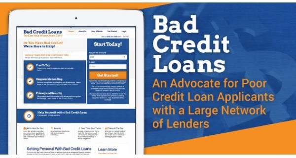 Personal Loans For Bad Credit Get Up To 5 000 Today Loans For Bad Credit No Credit Loans Bad Credit