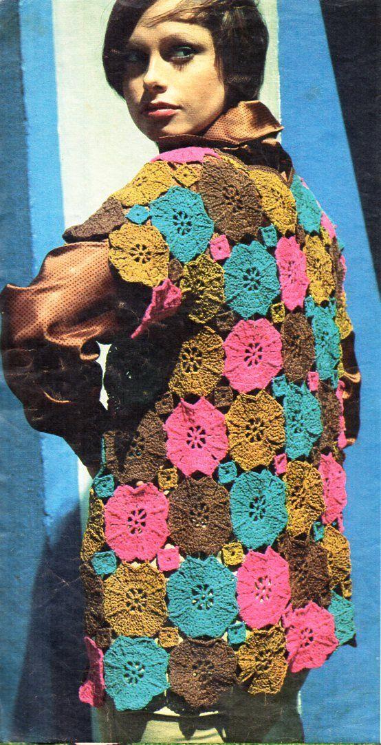 Womens Crochet Jacket Crochet Pattern Pdf Ladies Crochet Motif