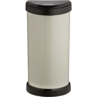 Buy Curver 40 Litre Touch Top Kitchen Bin - Ivory at Argos.co.uk - Your Online Shop for Kitchen bins.