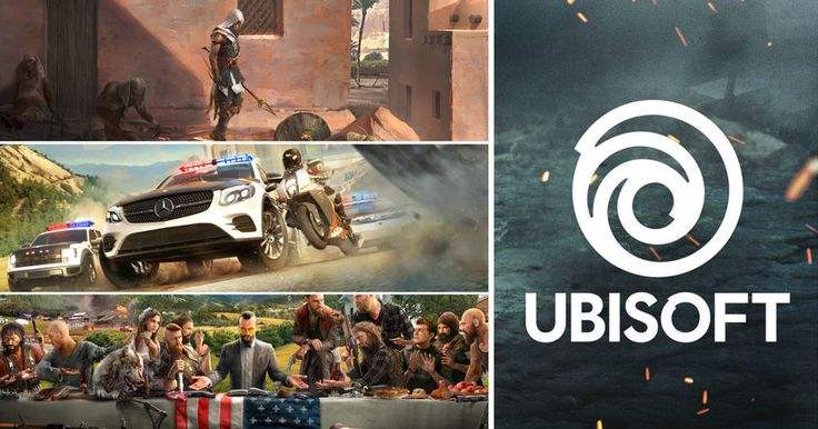 Помимо новых трейлеров игры Far Cry 5 на выставке E3 компания Ubisoft рассказала и о других своих игровых проектах.