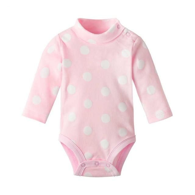 Baby Girls Long Sleeve Bodysuits Cotton Rompers Jumpsuits Outfits 18-24 Months