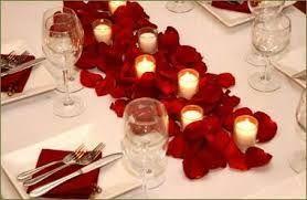 decoracion cena romantica - Buscar con Google