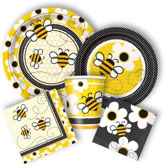 Bee Party Supplies Babyshower Babyshowers
