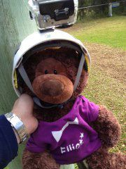 Elliot at an Action Adventure Camp! Looking cool in his helmet :)