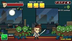 Marco's Panic is a crazy, frantic action game! It's late at night, and Marco is left alone in his office, working overtime. The silence is broken however, when he suddenly finds himself fending against a sudden horde of zombies!   http://www.freeonlinegamestore.com/marcos-panic/