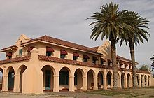 Spanish Colonial Revival architecture - Wikipedia, the free encyclopedia; Kelso Hotel and Depot; Mojave Desert, SoCal