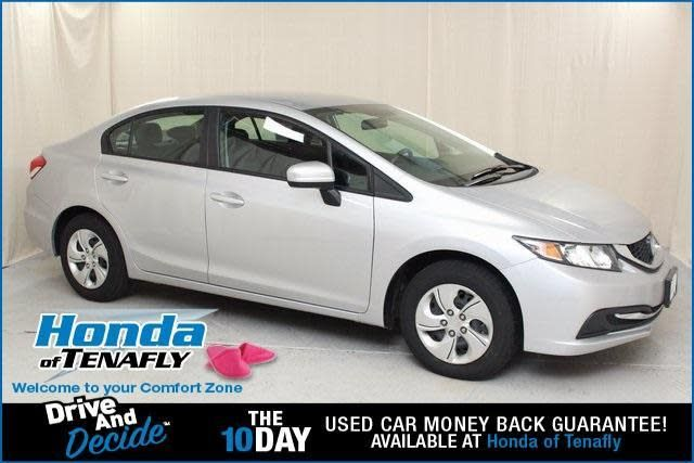 CPO 2014 Honda Civic LX for sale at Honda of Tenafly in Tenafly, NJ for $13,497. View now on Cars.com.