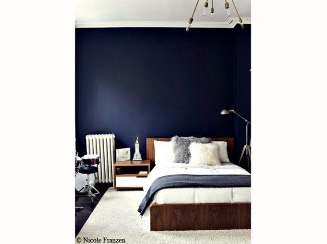 Chambre bleu marine | Chambre bébé | Chambre bleu, Chambres bleu ...