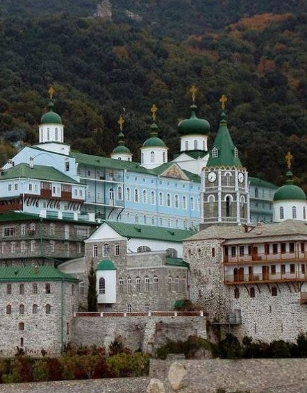 Saint Panteleimon Monastery, Mount Athos /  lexovitis