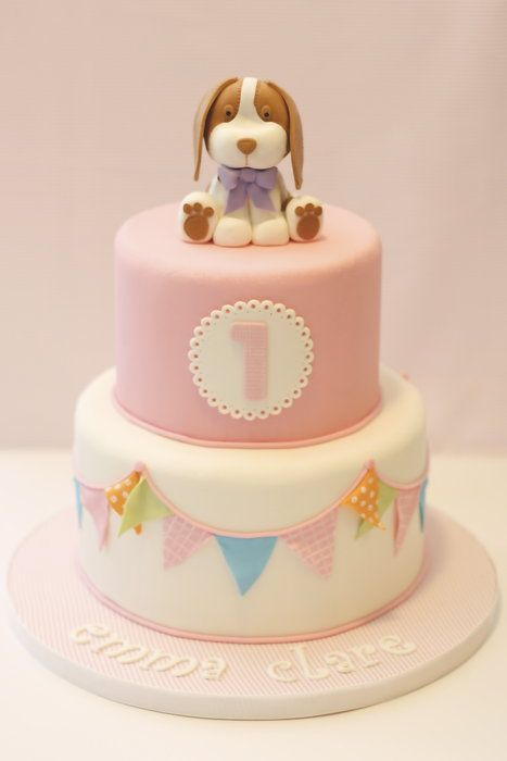 Puppy Love - by Sweet Pea Tailored Confections @ CakesDecor.com - cake decorating website