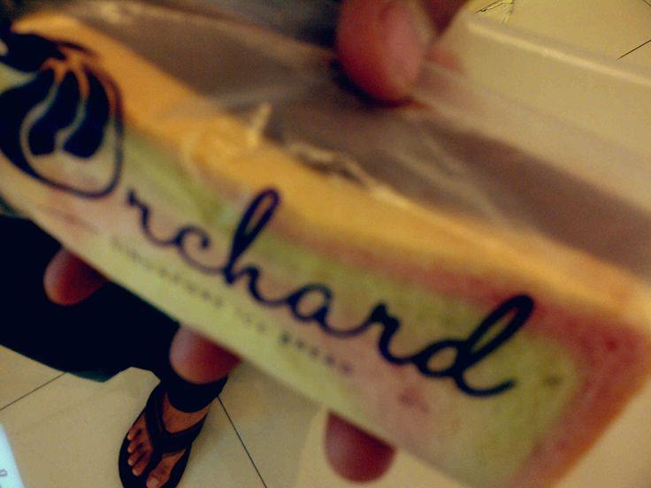 Orchard singapore ice bread @Patrick Aragon mall SKA