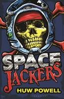 Spacejackers by Huw Powell - Jake Cutler lives a quiet life on the planet Remota, where he was abandoned as a baby.  But all that changes when his home is invaded by ruthless space pirates with just one target: him. Soon Jake is on the run with a bounty hunter and the suspicious-looking crew of a spaceship called the Dark Horse.  And Jake must discover the truth about his past before he is hunted down and caught.