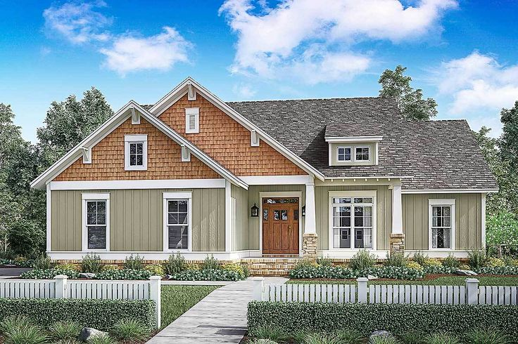 3 Bed Craftsman with Optional Outdoor Kitchen - 51747HZ | 1st Floor Master Suite, CAD Available, Corner Lot, Cottage, Country, Craftsman, Northwest, PDF, Split Bedrooms | Architectural Designs