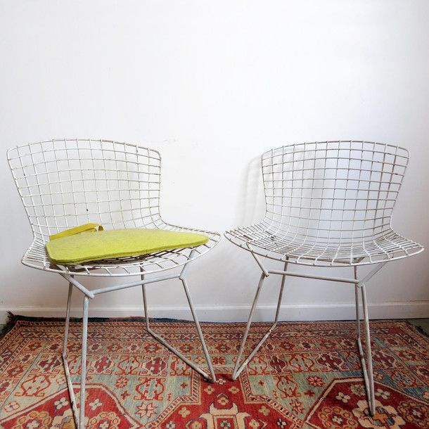 Bertoia Side Chair Pair