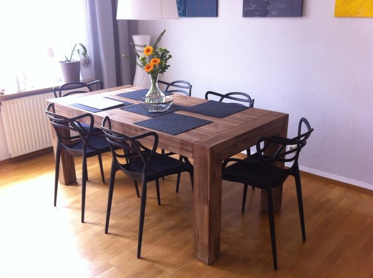 Dedigim modern sandalye, klasik masa ornegi | Yemek masasi ve ...