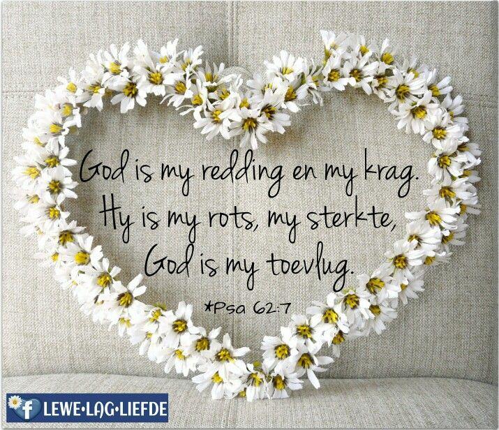 God is my redding #BybelVers
