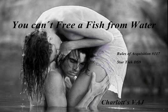 you can´t free a fish from water
