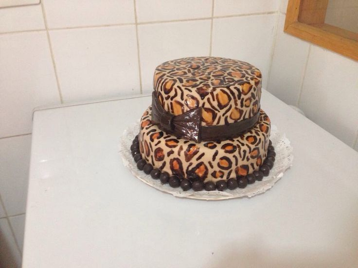 Torta leopardo - Romina Isella