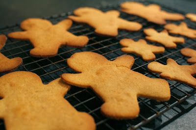 Dairy and egg free ginger bread man biscuits