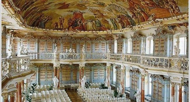 Bad Schussenried Bibliothekssaal, Baden-Württemberg