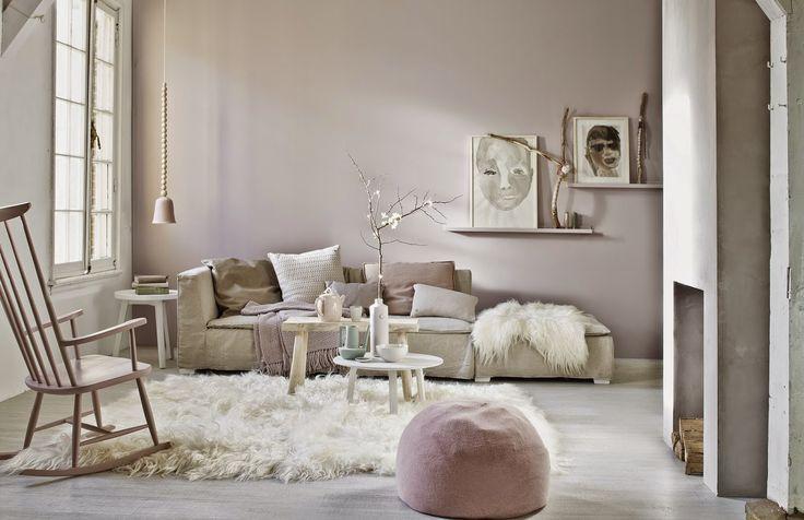 Primavera, interior design e colori pastello