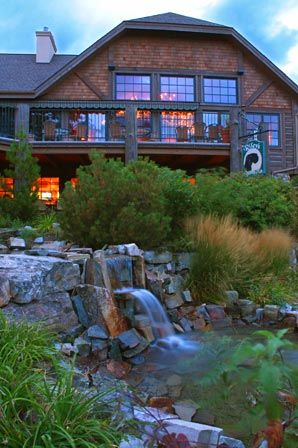 Mountain Lake Lodge at Flathead Lake Montana