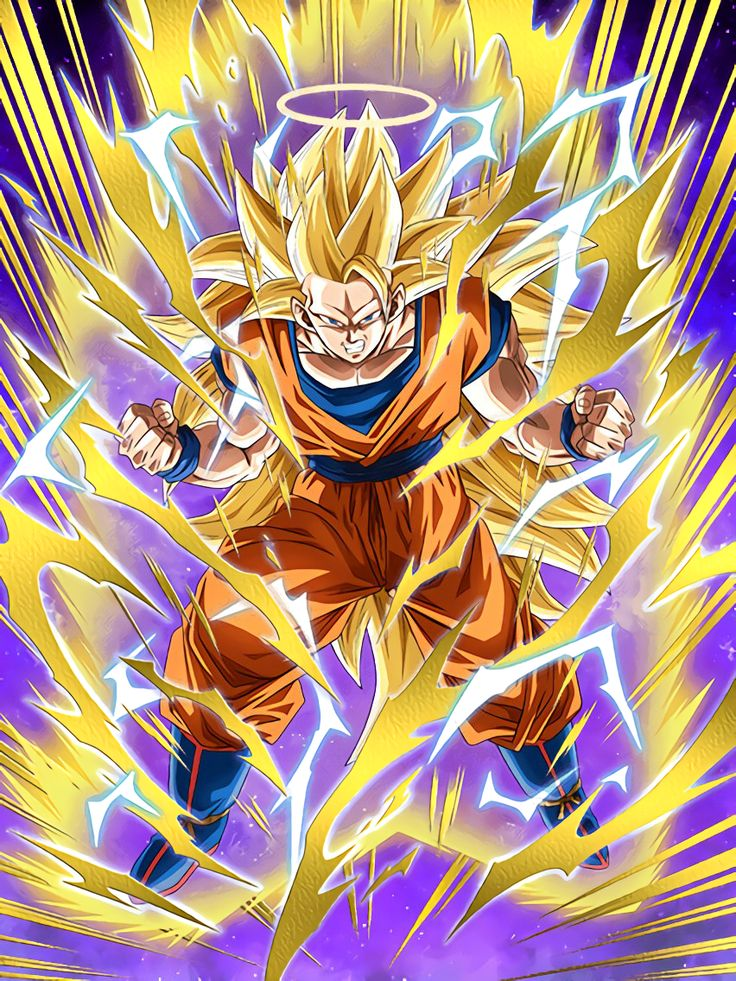 "[Extreme Power Brawl] Super Saiyan 3 Goku (Angel) ""It's been a while since someone pushed me this hard!"""
