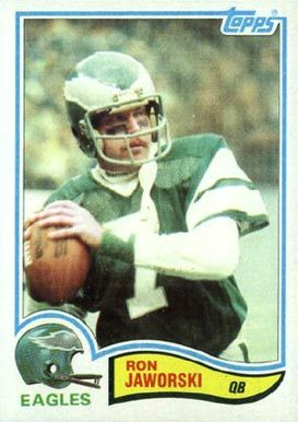 ron jaworski football cards | 1982 Topps Ron Jaworski #447 Football Card