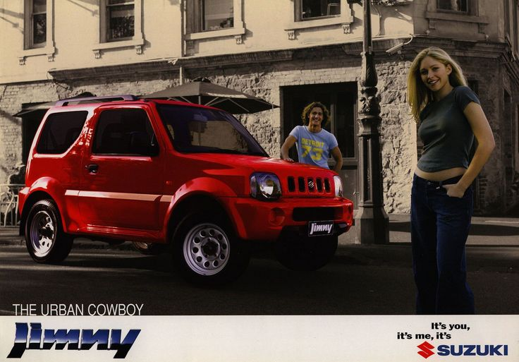 Suzuki Jimny - The Urban Cowboy; 2000_1  Australia | auto car brochure | by worldtravellib World Travel library - The Collection