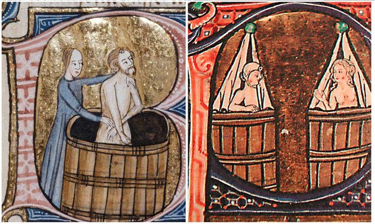 Conoce cómo se bañaban y se limpiaban las personas en el medioevo europeo. ¡Descubre cómo era la higiene en la Edad Media!