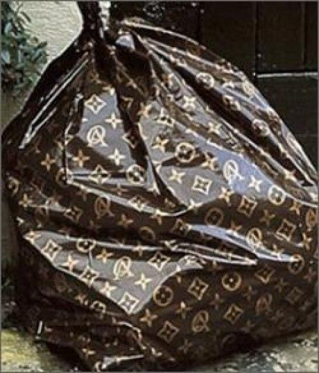 louis vuitton trash bags