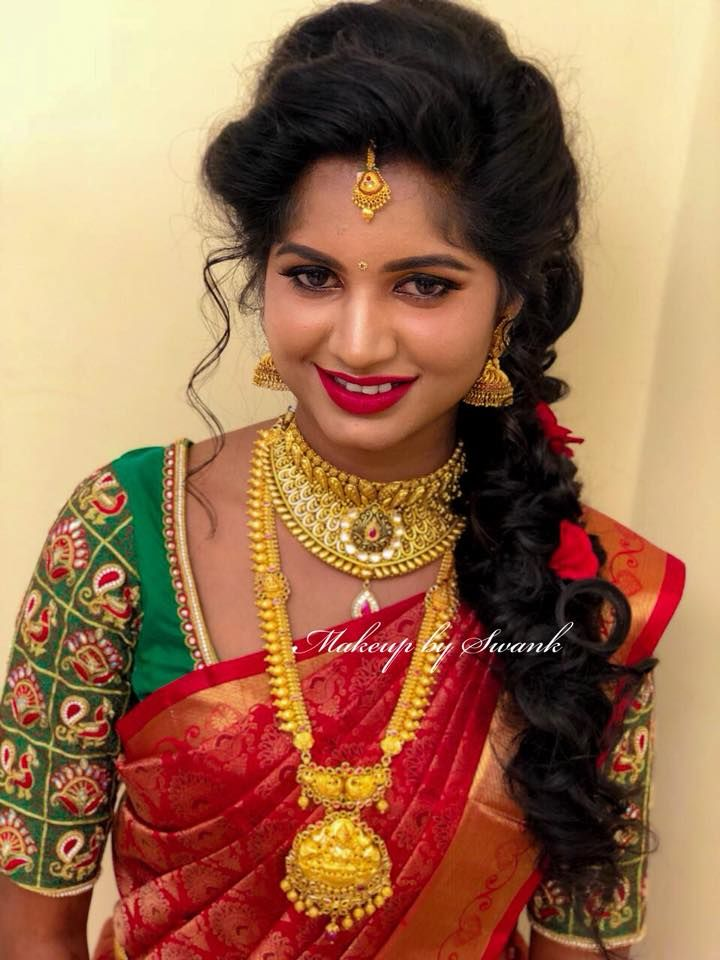 Shalini Looks Ethereal For Reception Ceremony Hair And