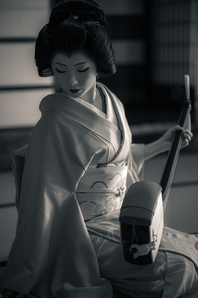 2016 芸妓 宮川町 とし真菜さん 二条陣屋にて 2016 geiko, Miyagawachô, Toshimana at Nijyô-jin-ya