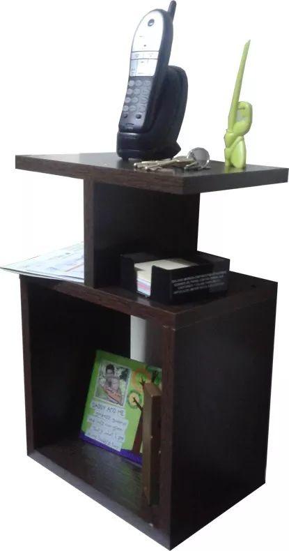 Mesa De Luz Apoyo O Telefono Para Colgar, Cubo Con Estante, melemina de 18mm medidas: 45 X 30 X 20 (medida de 30 X 30 X20)