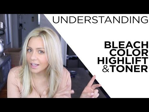 Understanding Bleach, Color, Highlift and Toner - YouTube